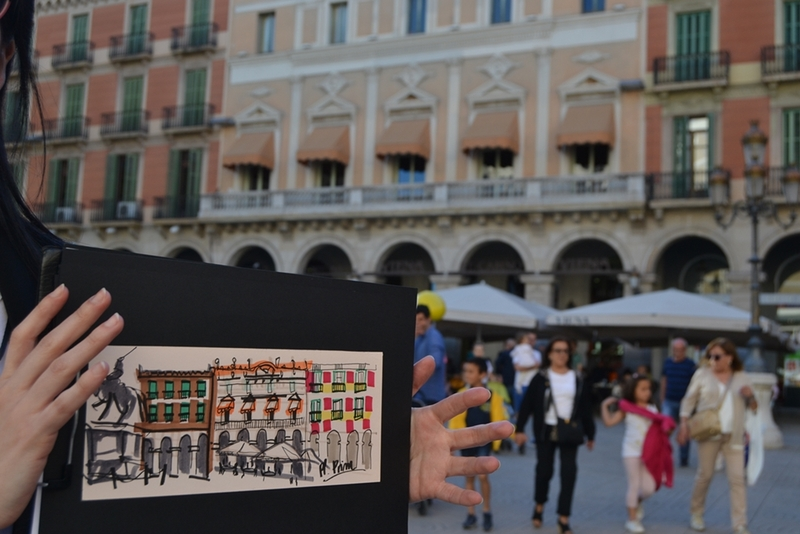 Sketching tour Reus