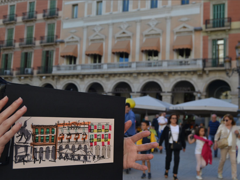 sketching-tour-reus